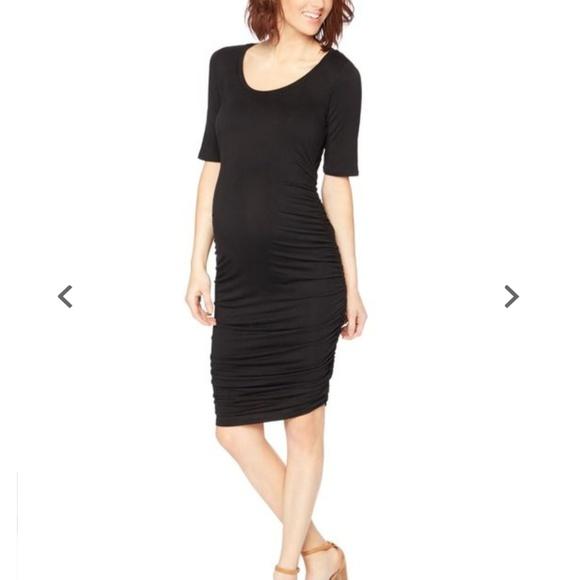 c4a99041cd2ac Motherhood Maternity Dresses | Black Dress Size Small | Poshmark